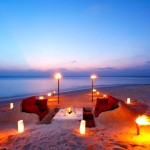 Sand sofa dining