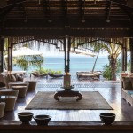 Anantara Spa entrance with lounge and view