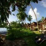 Beach Front Villa Exterior
