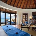 Water villa interior
