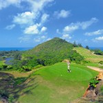Seychelles only 18 hole golf course