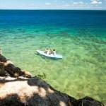 Kayak around the island