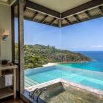 Unbelievable bath views
