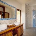 Azura Benguerra Beach Villa bathroom