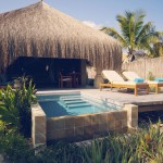 Azura Benguerra - Luxury Beach Villa deck and pool